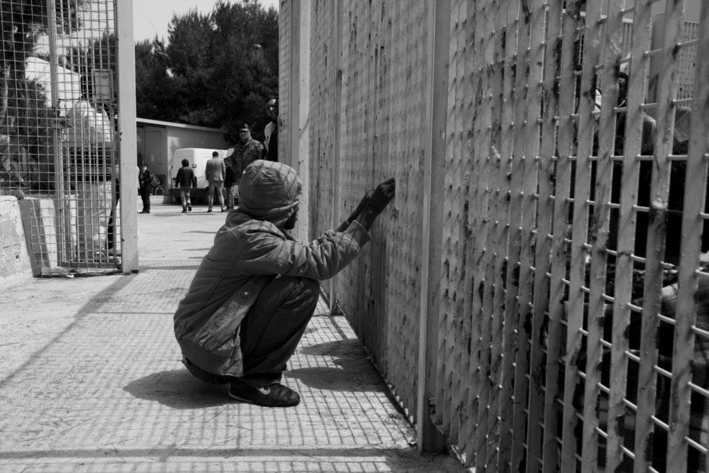 Lampedusa CIE - © Salvatore Esposito